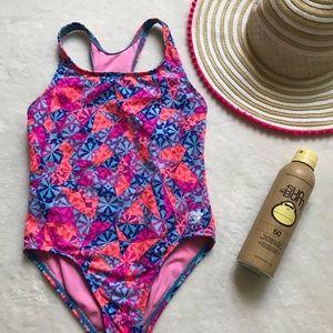 Girl TYR bathing suit